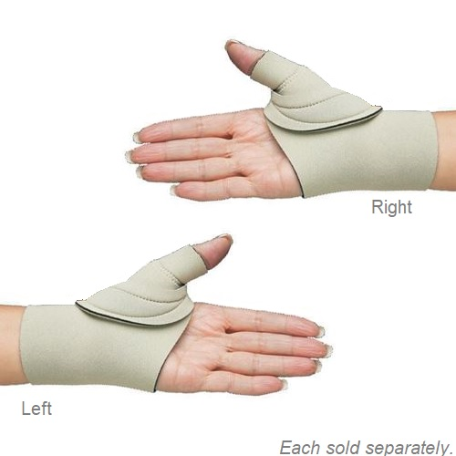 Thumb Cmc Restriction Splint By Comfort Cool Beige